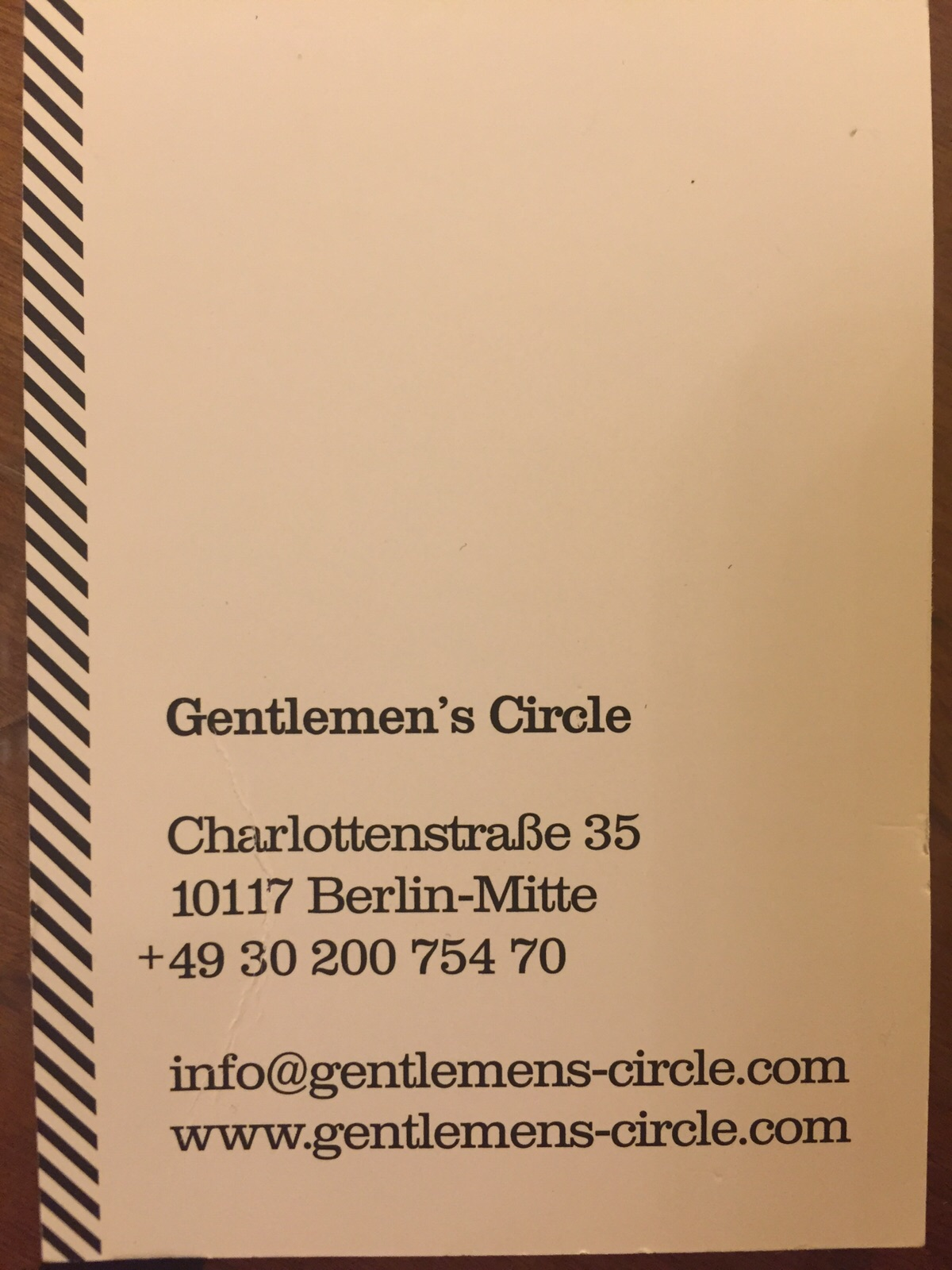 Gentlemen's Circle - DearHairdresser (1)