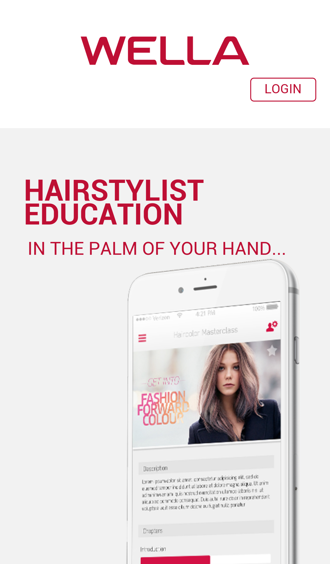 Wella Education App - DearHairdresser (4)